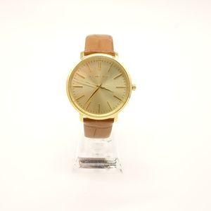 NEW MICHAEL KORS Jaryn Brown Leather Watch ❤